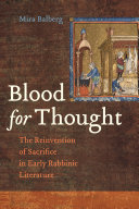 Blood for Thought Pdf/ePub eBook