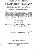 Nueva y completa gramatica italiana explicada en español