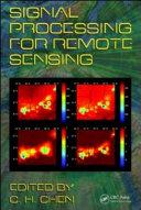 Signal Processing For Remote Sensing Book PDF