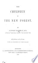 The Children of the New Forest     Fifth Edition     with Illustrations by John Gilbert Book