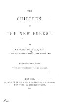 The Children of the New Forest     Fifth Edition     with Illustrations by John Gilbert