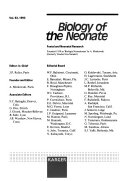 Biology of the Neonate