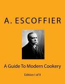 Escoffier Book PDF