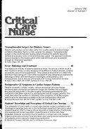 Critical Care Nurse