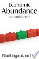 Economic Abundance Book