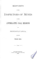 Report Of The Department Of Mines Of Pennsylvania