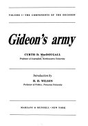 Gideon's Army: The components of the decision