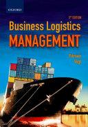 Cover of Business Logistics Management