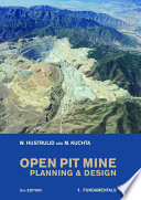 Open Pit Mine Planning And Design Two Volume Set Second Edition