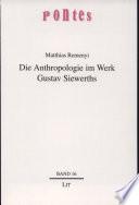 Die Anthropologie im Werk Gustav Siewerths