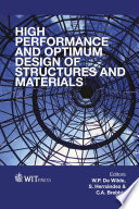 High Performance and Optimum Design of Structures and Materials Book