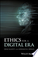 Ethics for a Digital Era Book PDF