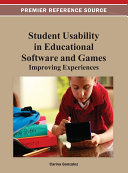 Student Usability in Educational Software and Games  Improving Experiences