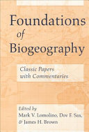 Foundations of Biogeography