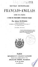 Nouveau dictionnaire français-anglais