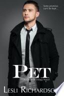 Pet  A Governor Trilogy Novel  Governor Trilogy 5