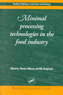Minimal Processing Technologies In The Food Industries Book PDF
