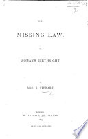 The Missing Law  Or  Woman s Birthright