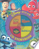 Disney Pixar CD Storybook Book