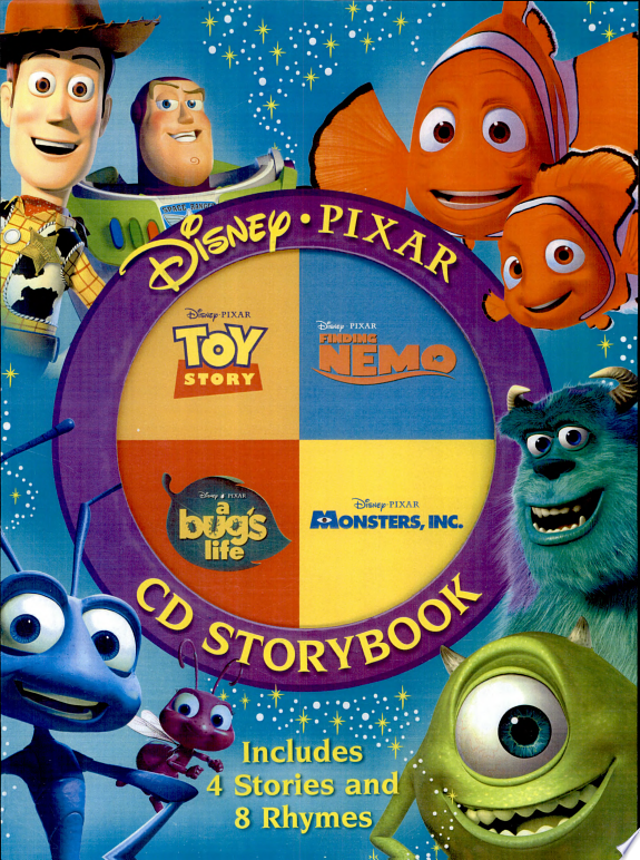 Disney Pixar CD Storybook