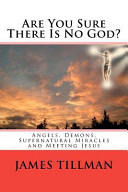 Are You Sure There Is No God  Book