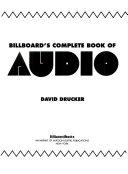 Billboard S Complete Book Of Audio