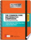 The Common Core Mathematics Companion The Standards Decoded Grades 6 8 Book PDF