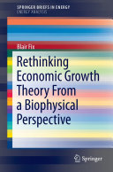 Rethinking Economic Growth Theory From a Biophysical Perspective Pdf/ePub eBook