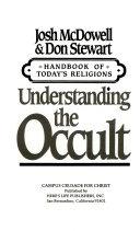 Understanding the Occult (Handbook of Today's Religions / Josh Mcdowell)