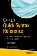 C  17 Quick Syntax Reference