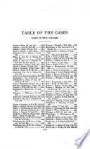 Reports of Cases Argued and Determined in the Supreme Court of Judicature of the State of Indiana  with Tables of the Cases Reported and Cases Cited and an Index