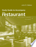 Study Guide to Accompany The Restaurant  From Concept to Operation  5e Book