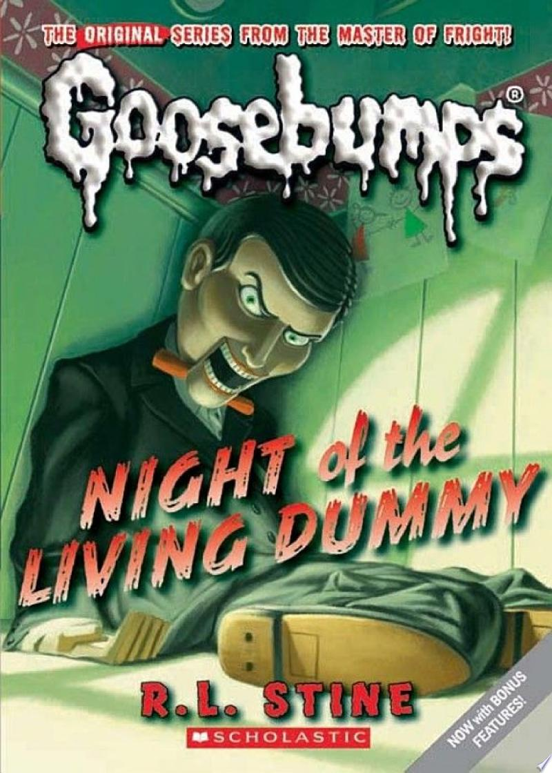 Night of the Living Dummy (Classic Goosebumps #1) image