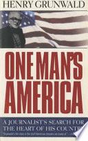 One Man s America