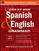 Side By Side Spanish and English Grammar  3rd Edition
