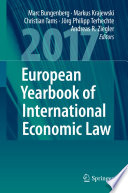European Yearbook Of International Economic Law 2017