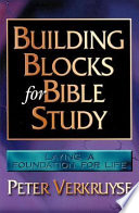 Building Blocks for Bible Study