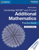 Books - New Cambridge Igcse� And O Level Additional Mathematics Practice Book | ISBN 9781108412858