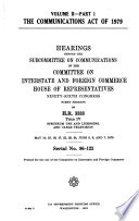 The Communications Act Of 1979