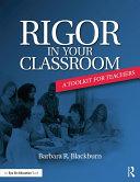 Rigor in Your Classroom