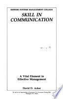 Skill in Communication Book