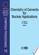 Chemistry of Cements for Nuclear Applications