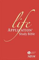 NIV Larger Print Life Application Study Bible  Anglicised