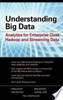 Understanding Big Data  Analytics for Enterprise Class Hadoop and Streaming Data Book