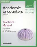 Academic Encounters Level 1 Teacher s Manual Listening and Speaking
