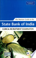 The Pearson Guide to The State Bank of India Clerical Recruitment Examination