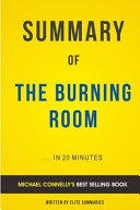 The Burning Room: by Michael Connelly   Summary & Analysis
