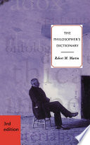 The Philosopher s Dictionary   Third Edition