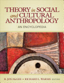 Theory in Social and Cultural Anthropology