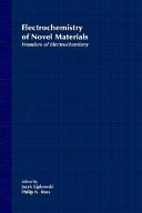 Frontiers of Electrochemistry  The Electrochemistry of Novel Materials Book